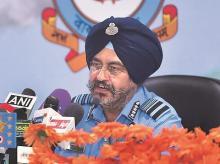 IAF chief B S Dhanoa