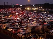 cars, automobiles, vehicles, traffic jam