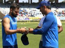India vs Australia, Dhoni