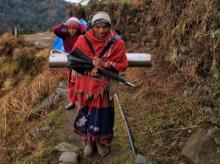 Women from Shaama village. Photo: Sandeep Ahuja