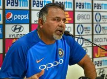 Indian bowling coach Bharat Arun