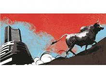 sensex, nifty, stock market, bull