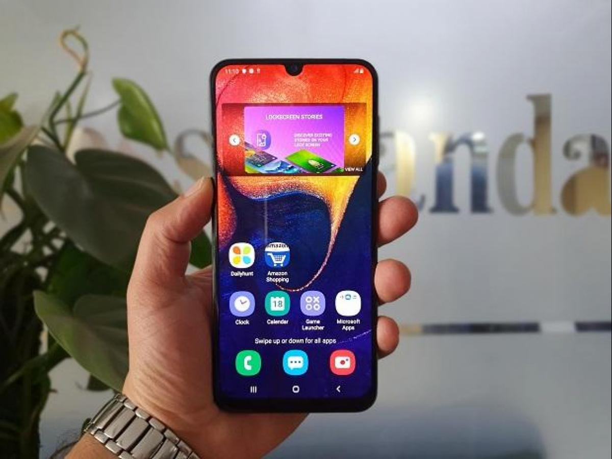 Samsung Galaxy A50 review: Worthy mid-range phone competing with