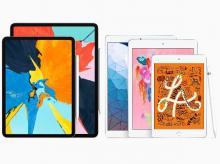 iPad Air and iPad Mini (2019)