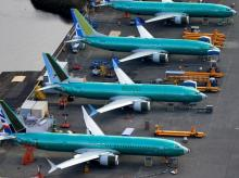 Boeing 737 MAX, planes, flight, aircraft