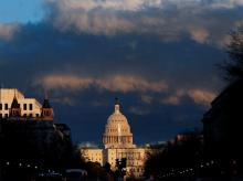 File photo of the US Capitol. Photo: Reuters
