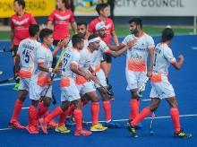 Indian hockey team. File Photo: PTI