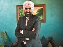 Randeep Singh Jauhar Vice-chairman, Jamna Auto Industries. Photo: Dalip Kumar