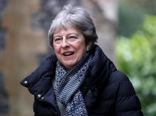 Theresa May, Britain, Brexit