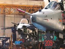 Hindustan Aeronautics workshop at Bengaluru
