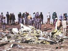 Ethiopian airline crash, Boeing 737 Max