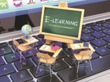 E-learning, online education, online training