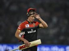 AB de Villiers. File Photo: PTI