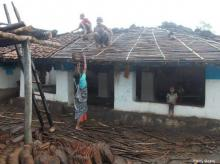 on their own Work being done by one of the rural communities in Mandla, a tribal district in the east-central part of Madhya Pradesh