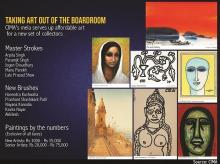 Taking art out of the boardroom: CIMA's Mela brings modestly-priced art