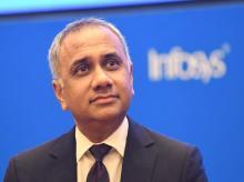 Salil Parekh, Infosys CEO
