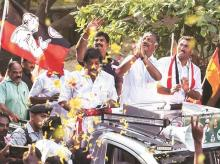 When vacant positions are filled, the AIADMK may need five seats to cross the half-way mark