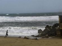 Cyclone Fani, puri beach