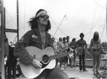 Country Joe McDonald urged the Woodstock crowd to spell the F word out one letter at a time