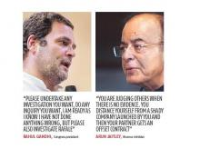 BJP slams Rahul over defence contract given to his former business partner