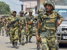 army, indian army, security forces, elections