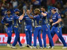 Mumbai Indians. Photo: PTI