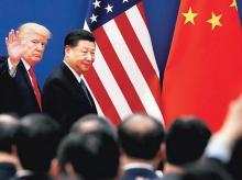 Donald Trump and Xi Jinping. Photo: Reuters