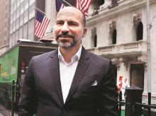 Uber hired Dara Khosrowshahi (pictured) as CEO to replace Travis Kalanick and clean up the mess although Lyft seized upon the scandals to gain market share. Photo: Reuters