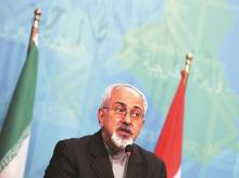 Iran Foreign Minister Javed Zarif