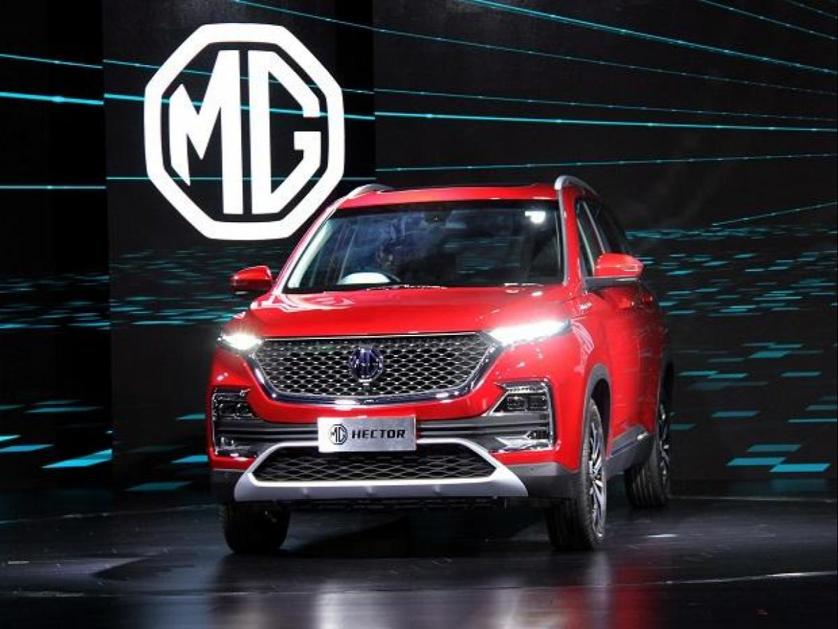 Mg Motor India Launches Hector Suv Priced At Rs 12 18 Rs 16 88 Lakh