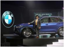 Sachin Tendulkar  launch the all new BMW X5 car in Mumbai on May 16, 2019 (Picture-KAMLESH PEDNEKAR)