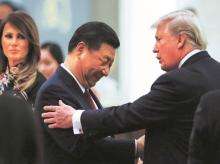 China's President Xi Jinping with US President Donald Trump | File photo: Reuters