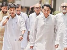 kamal Nath,  MP CM, Jyotiraditya Scindia