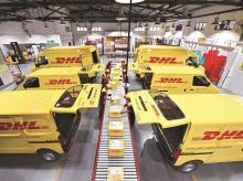 DHL, logistics, DHL express