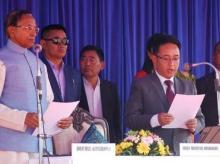 Prem Singh Tamang, P S Golay