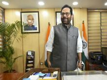 Mukhtar Abbas Naqvi, Minister of Minority Affairs