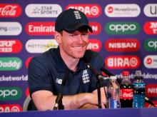 Eoin Morgan during press conference. Photo: Reuters
