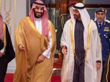 Mohammed Bin Salman, Sheikh Mohammed bin Zayed al-Nahyan