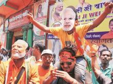 The BJP has around 10,000 cyber warriors in West Bengal | photo: reuters
