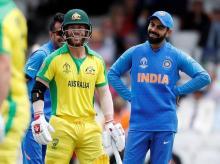 ICC CWC 2019: India vs Australia. Photo: Reuters