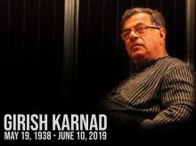 Girish Karnad, veteran actor and playwright, and Jnanpith awardee, passed away at the age of 81