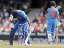 India's Hardik Pandya reacts during the Cricket World Cup match between India and Australia at the Oval in London | File Photo: PTI