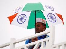 ICC Cricket World Cup - India v New Zealand India fan