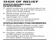 Govt reduces rate of contribution towards ESI scheme, employers to benefit