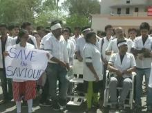 doctors protest