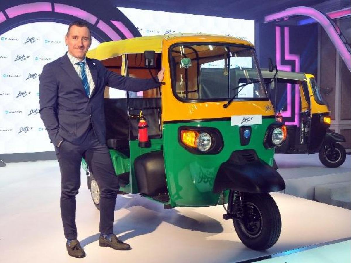 Piaggio to launch electric three-wheeler for India in