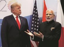 Narendra Modi, dONALD tRUMP