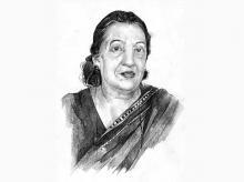 Anuradha Chenoy, retired professor, School of International Studies, JNU   Illustration by Binay Sinha
