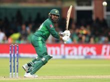 Haris Sohail smashes quick fire 89. Photo: Reuters