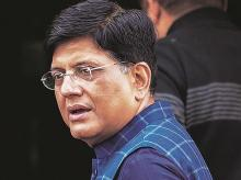 Piyush Goyal, commerce and industry minister